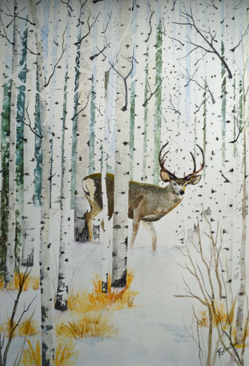 Away From The Wintering Herd