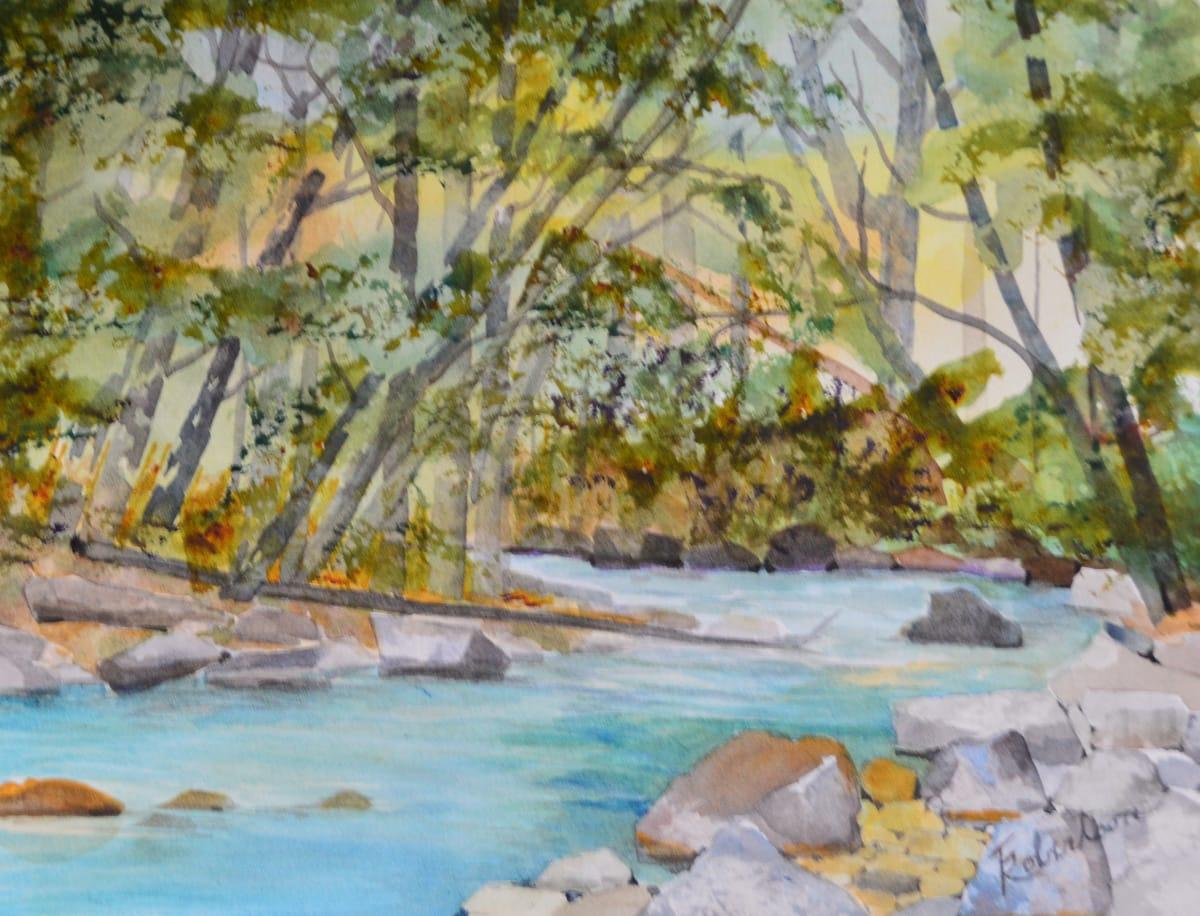 November on the Big Sur River