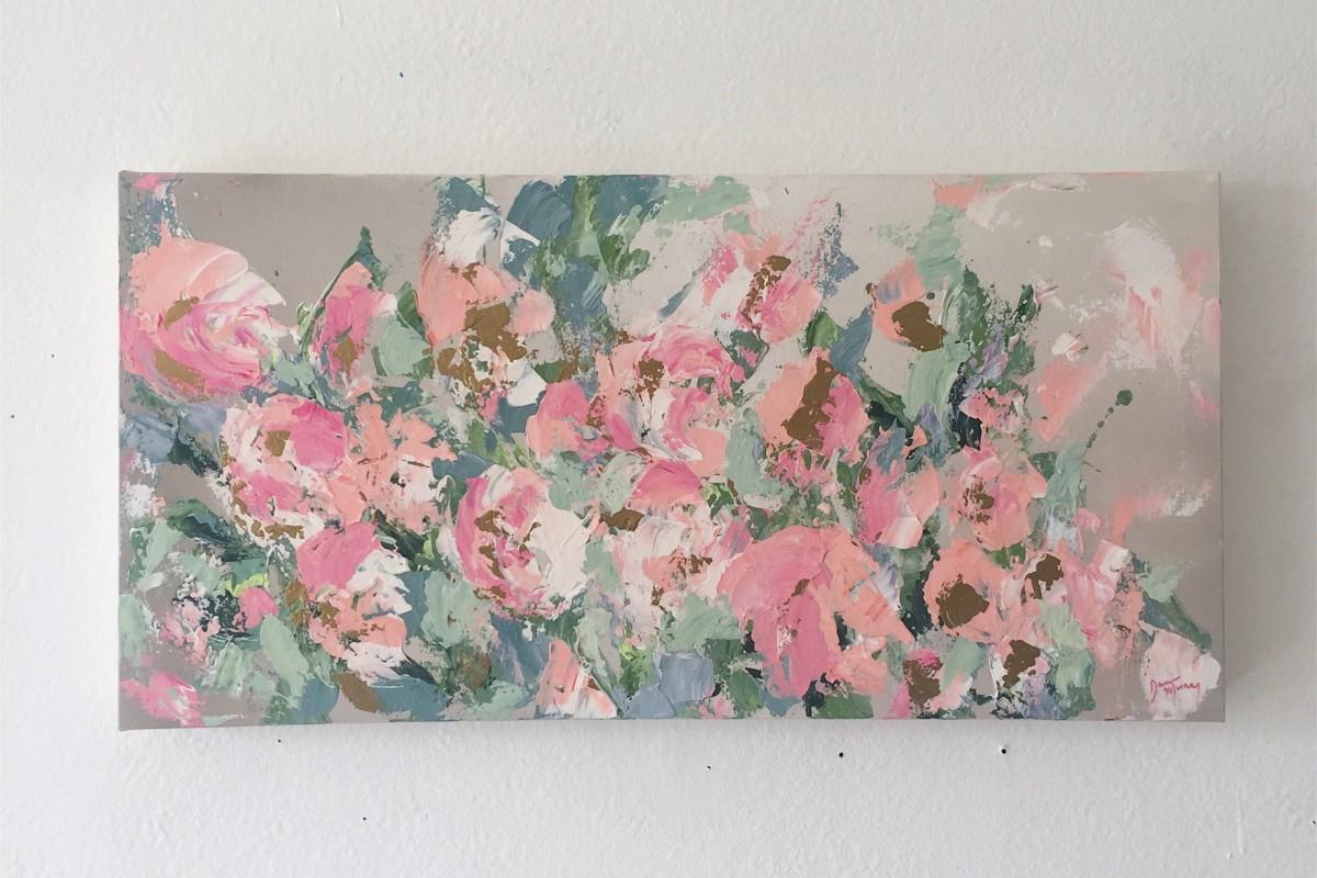 Blushing Peonies by Dana Mooney