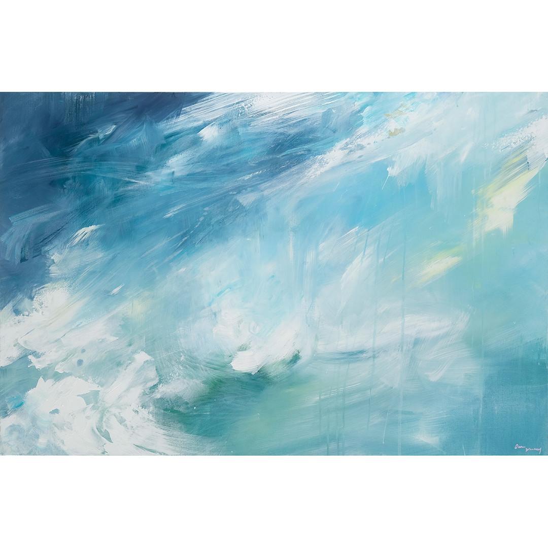 Beneath Turquoise Veils by Dana Mooney