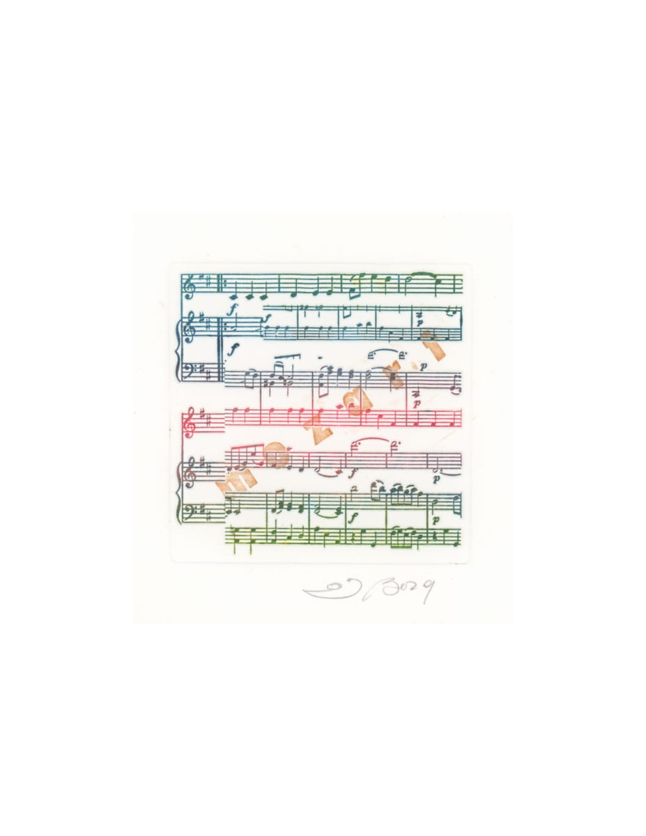 Mozart Minuet for Violin and Piano, from the Music series