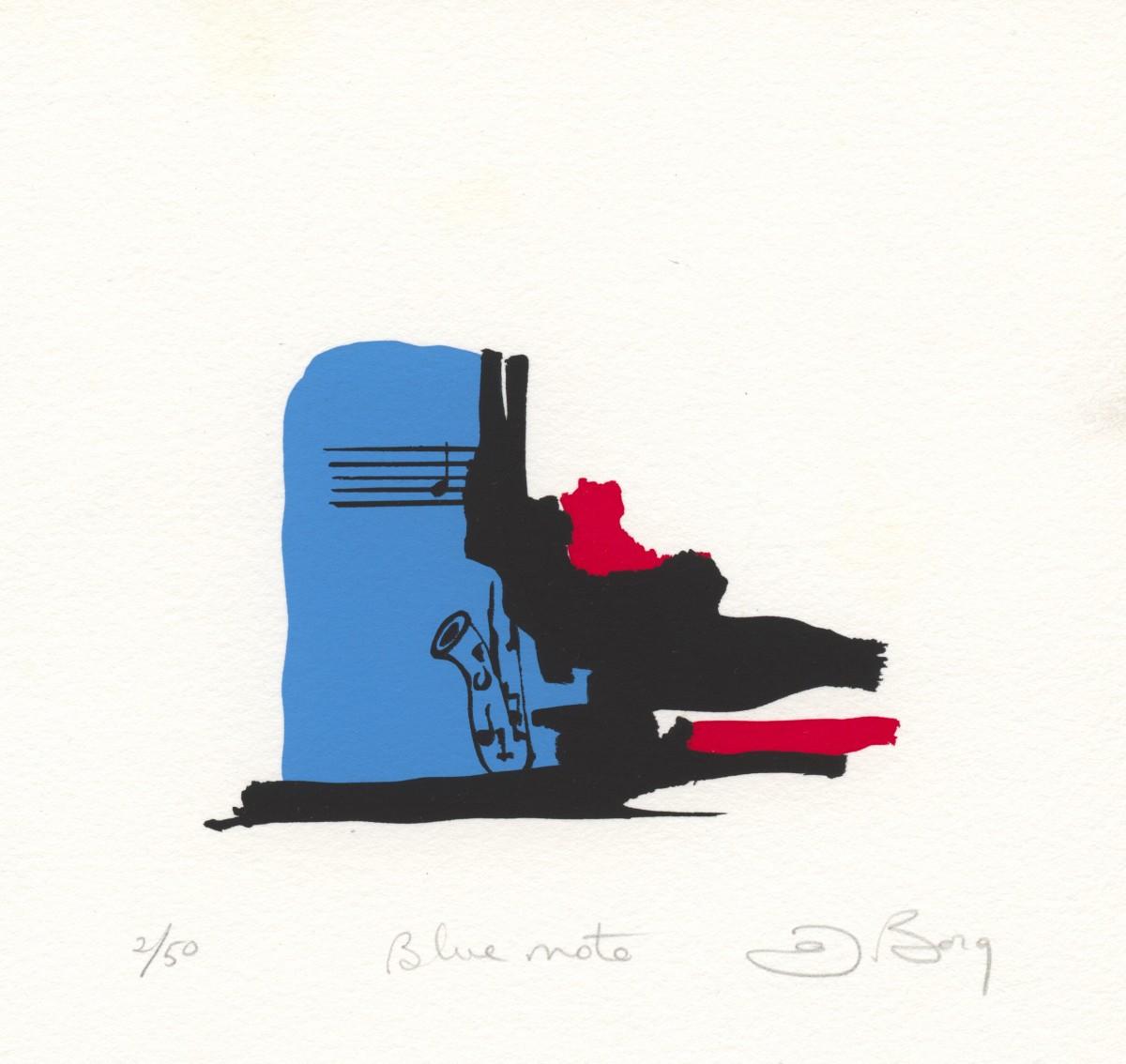 Blue Note by Joe Borg