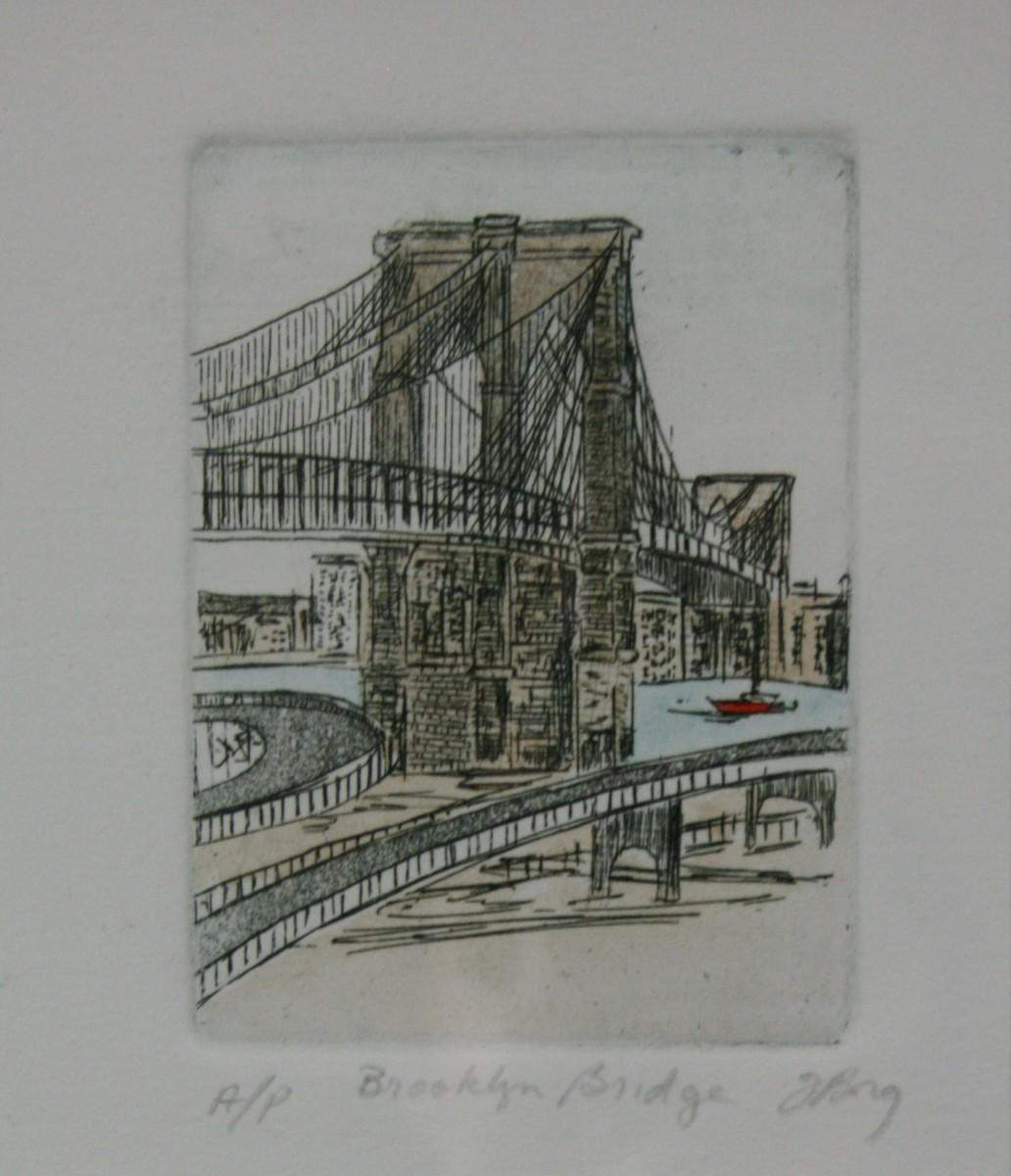 Brooklyn Bridge by Joe Borg