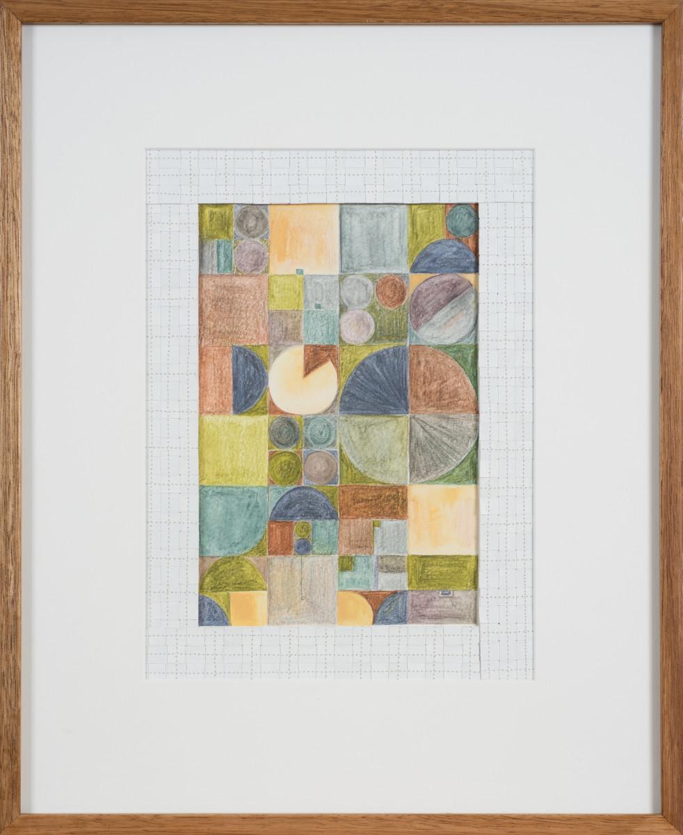 The Jefferson Grid 1 by Helen Fraser