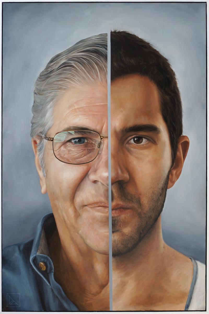 Portrait of the Artist's Inheritance (left panel)