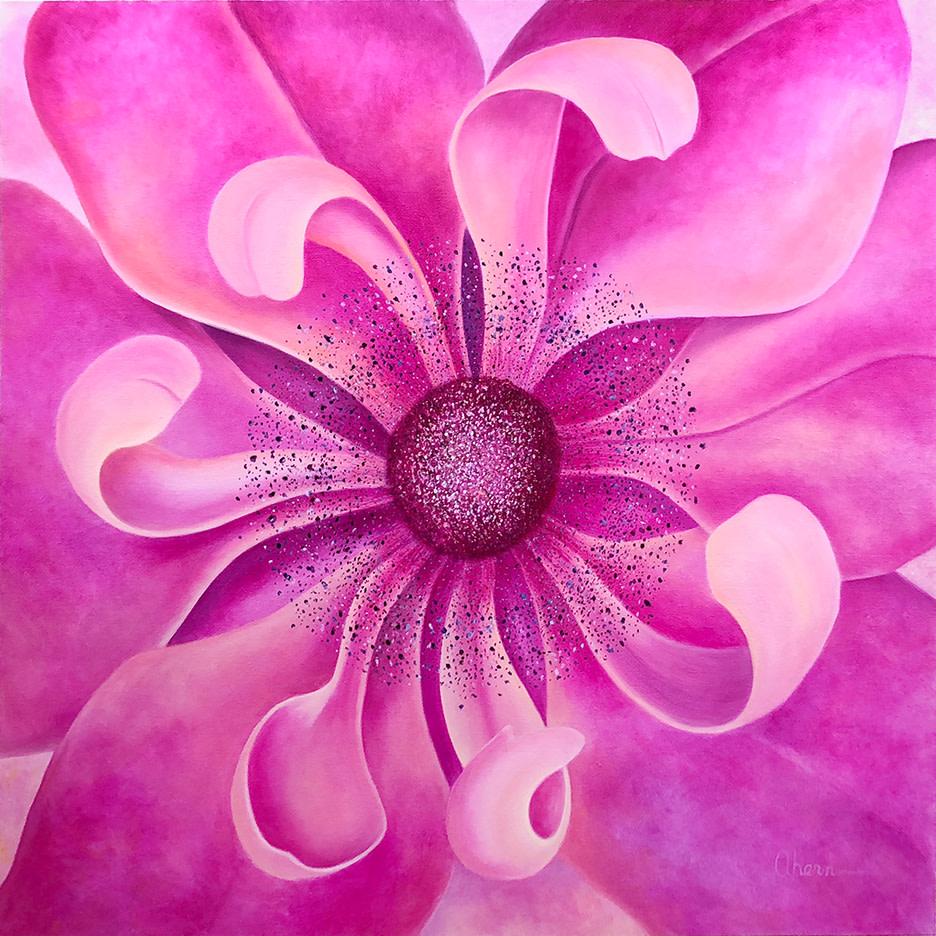 My World - Pink Anemone