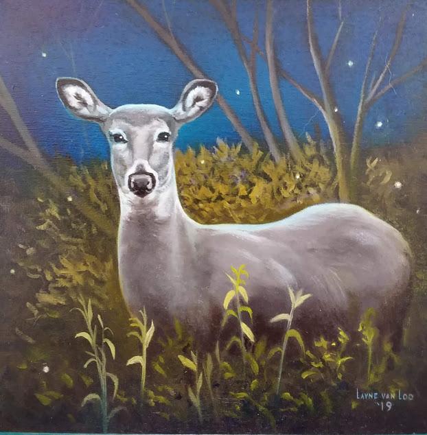 """A Deer in the Headlights"""