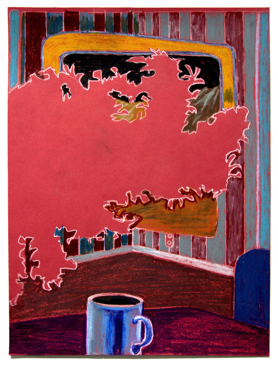 Red Leaf Interior by Mathew Tucker