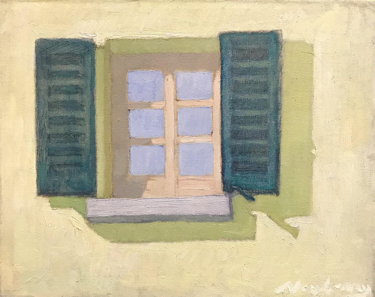 Yellow Walls and Window