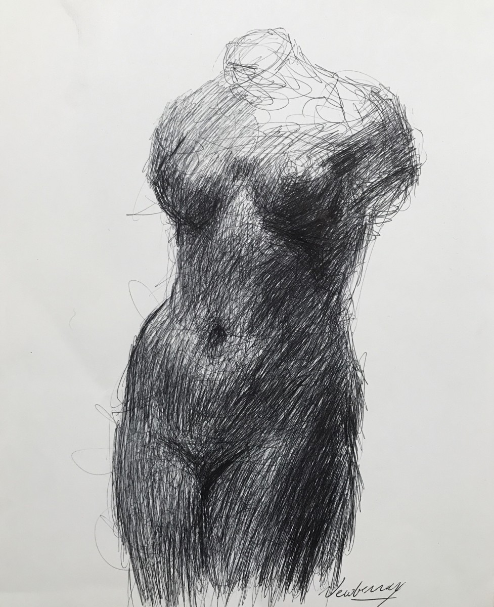 Ink Study of Maillol