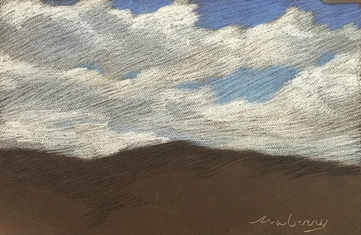 Chalky White Clouds by Michael Newberry