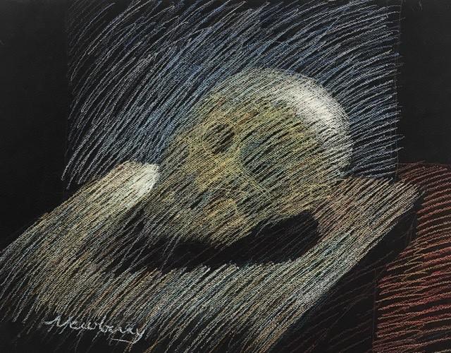 Skull Study by Michael Newberry