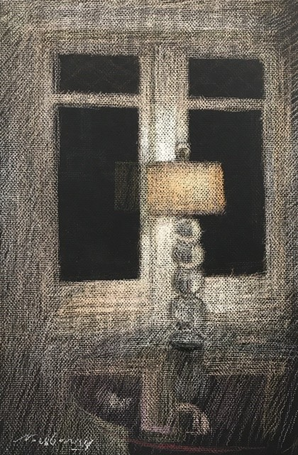 La Jolla Lamp by Michael Newberry