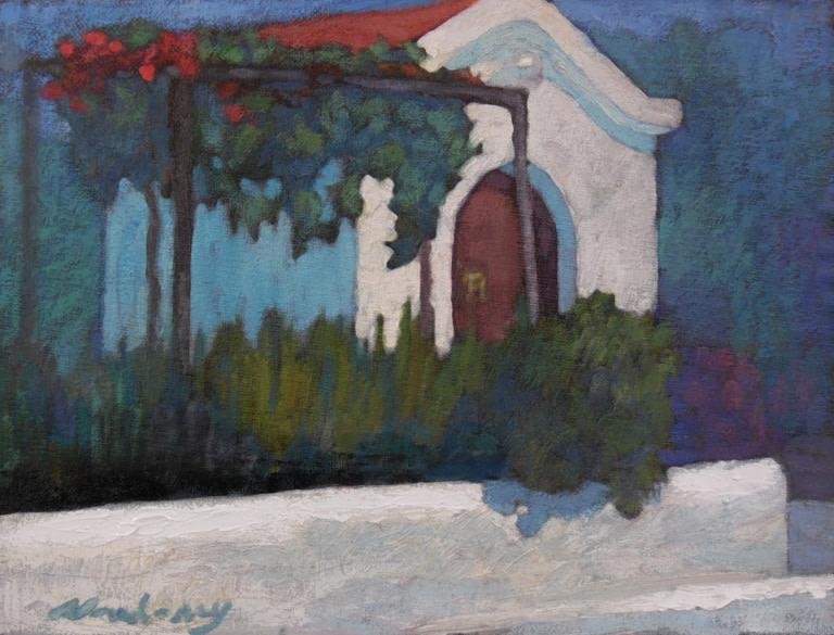 Greek Church by Michael Newberry