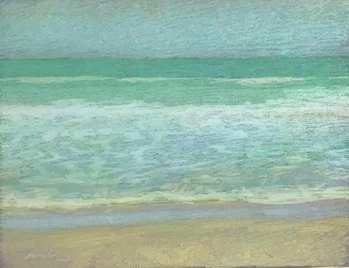Apollo Beach Light Yellow by Michael Newberry