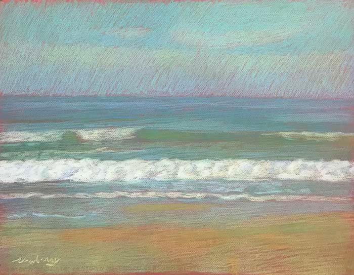 Apollo Beach Lime by Michael Newberry