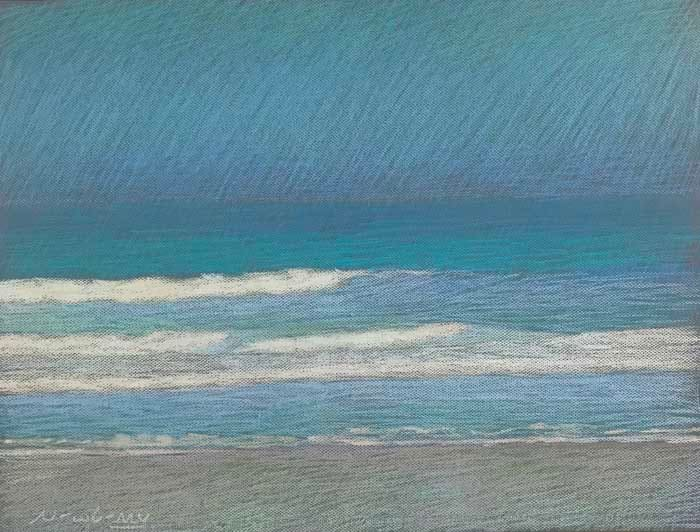 Apollo Beach Turquoise by Michael Newberry