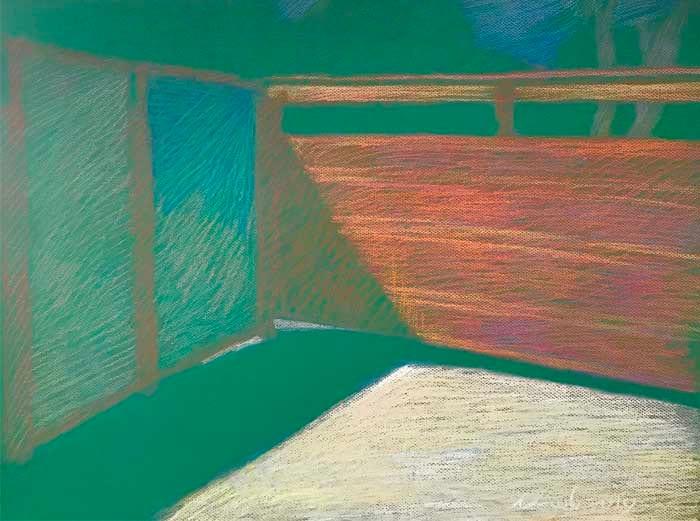 Newberry, Obermeyer's Gate, 2010, pastel