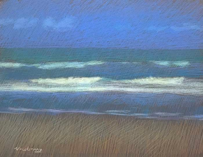San Onofre Blue by Michael Newberry
