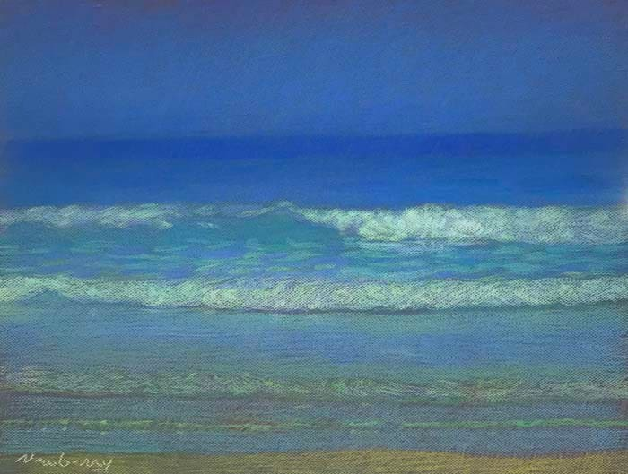 San Onofre Blue Blue Green by Michael Newberry