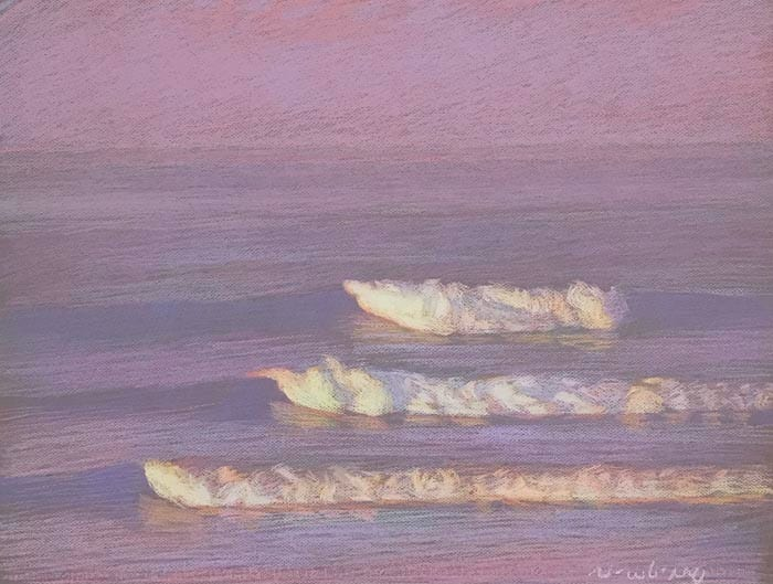 San Onofre Red-Violet by Michael Newberry