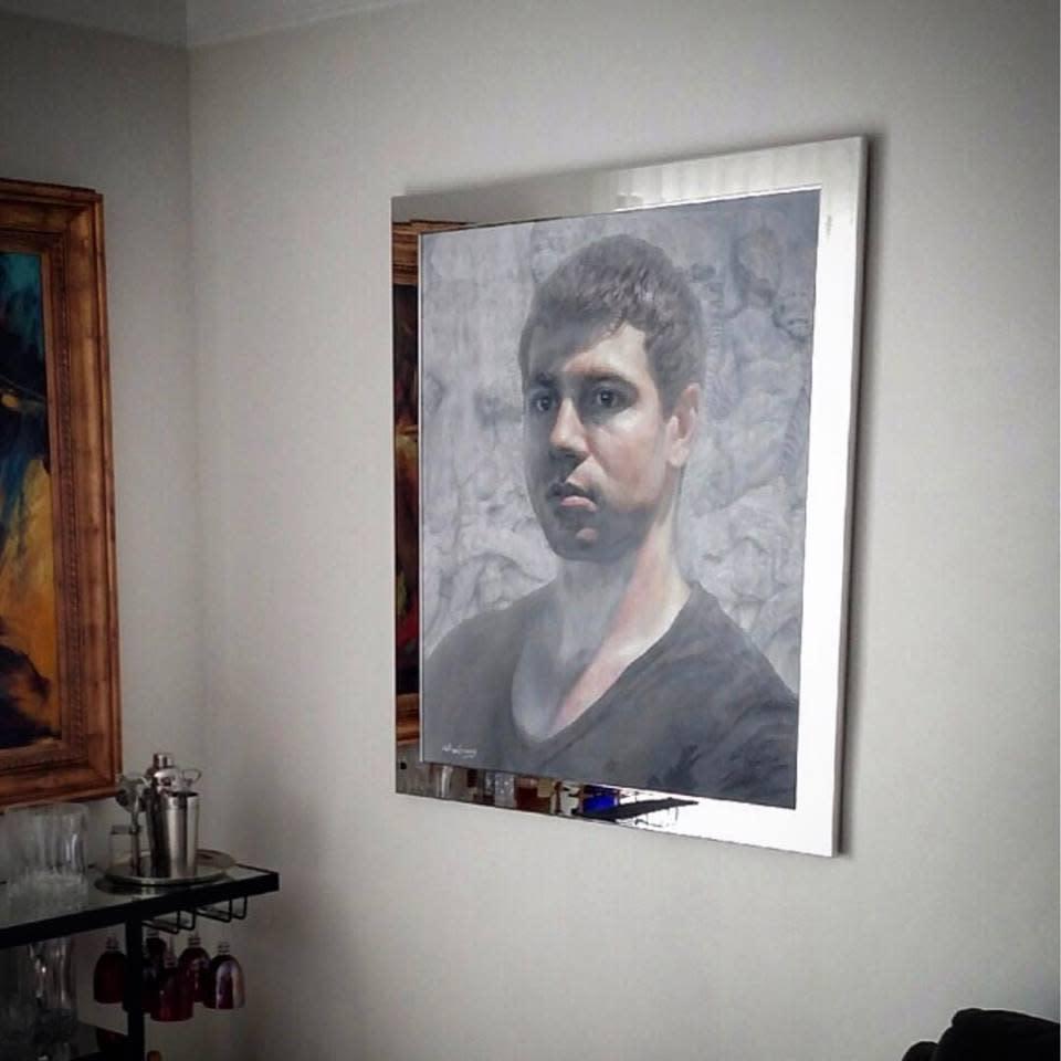 The Poet, Portrait of Pietros Maneos