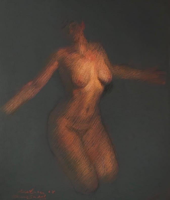 Venus Color Study by Michael Newberry