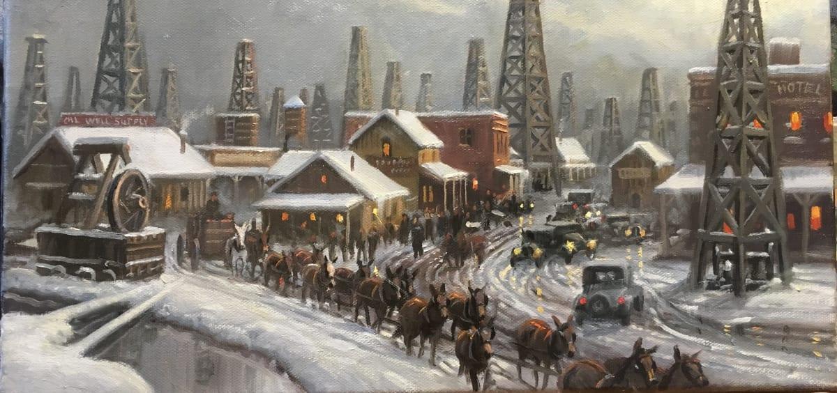 Snow Clad Relics by Mark Keathley