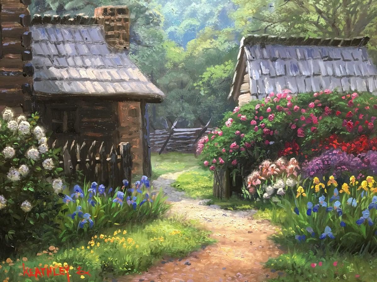 Grandma Loved Flowers by Mark Keathley