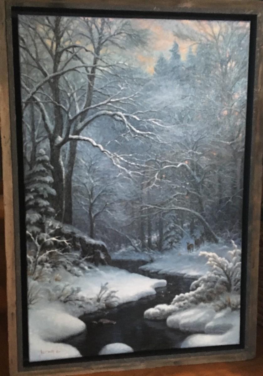 Winter Repose by Mark Keathley