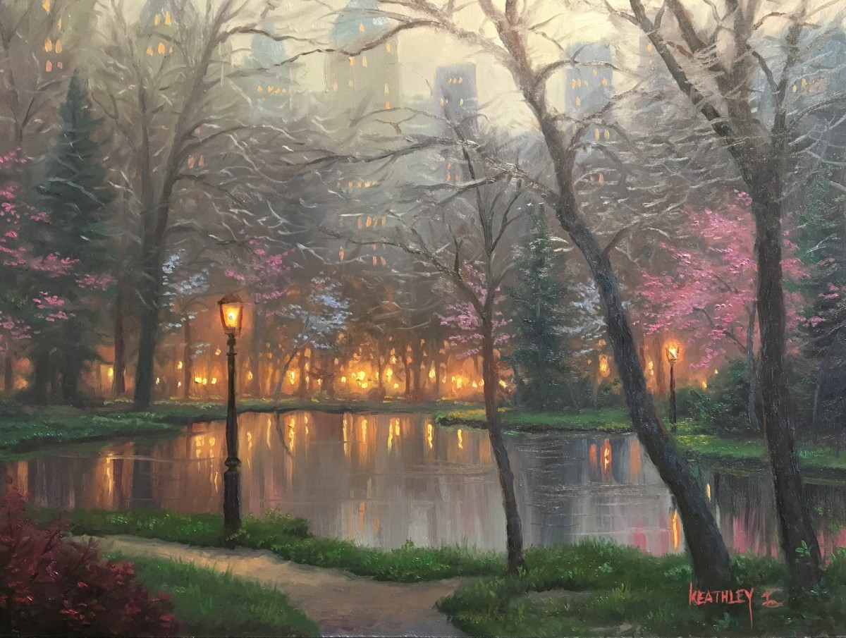 Evening in the park by Mark Keathley