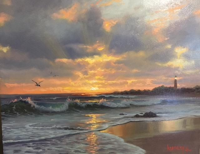 A new day by Mark Keathley