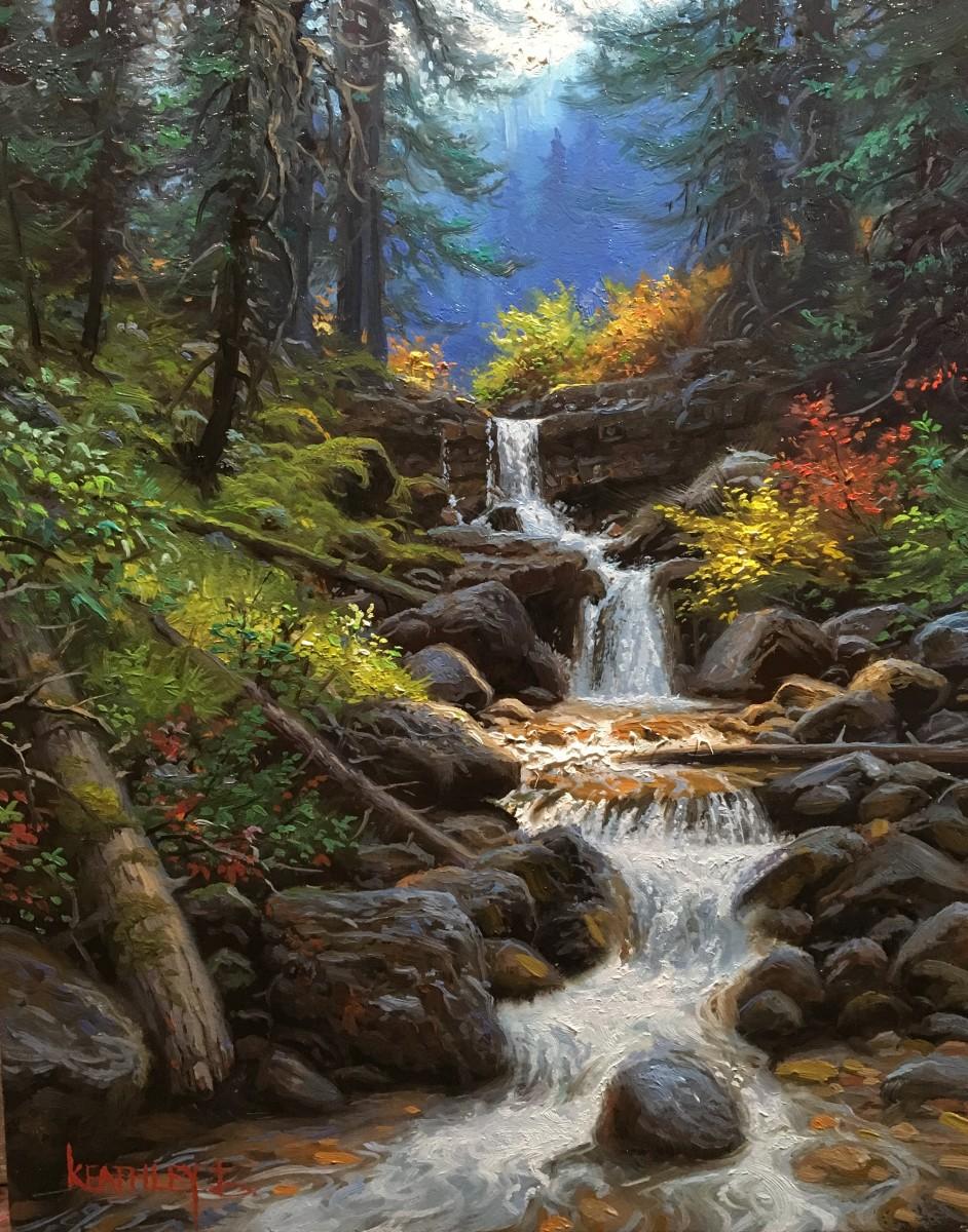 Cascade Creek  by Mark Keathley