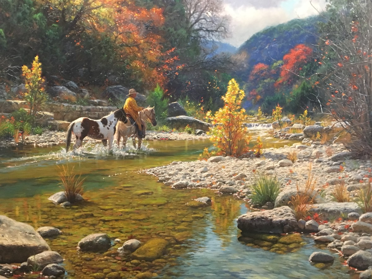 Lonesome dove by Mark Keathley
