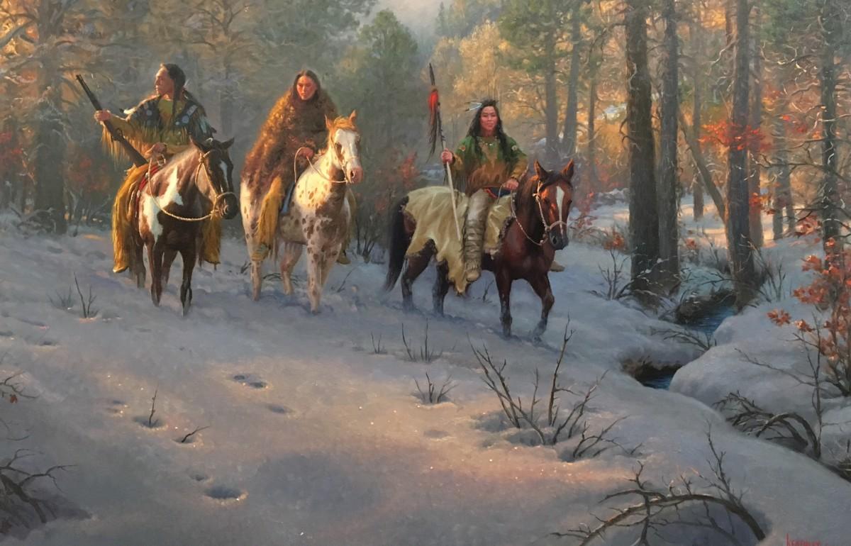 Winter Warriors by Mark Keathley