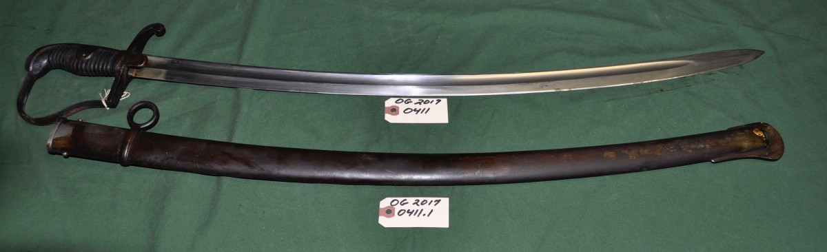 35 Inch Sword with 31.25 Scabard