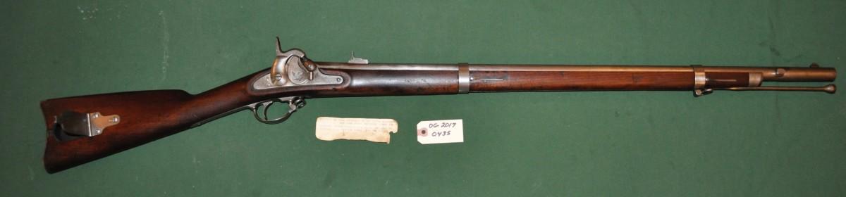 US 1855, 9th Regiment, Maynard Primer Musket
