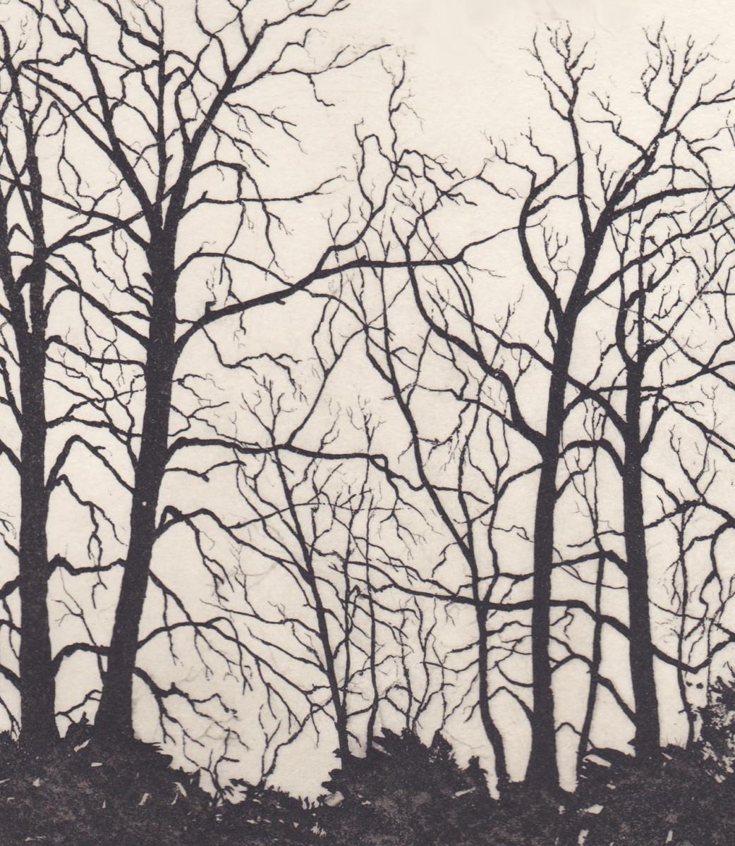thames bank shikishi by stephanie Jane Rampton