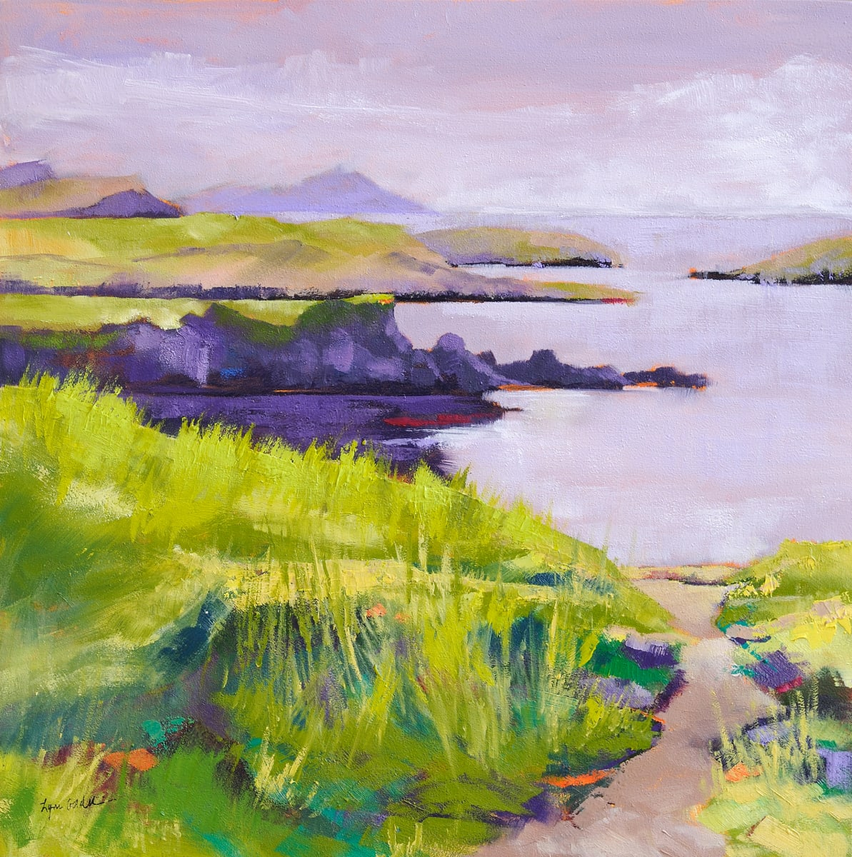 A Spur of Land by Lynn Goldstein