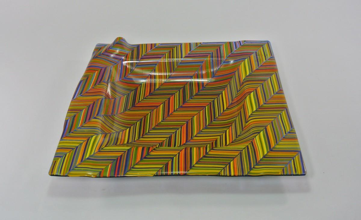 Herringbone 1 by Silvana Ferrario