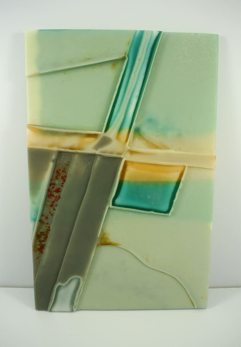 Crossroads relief 1 by Silvana Ferrario