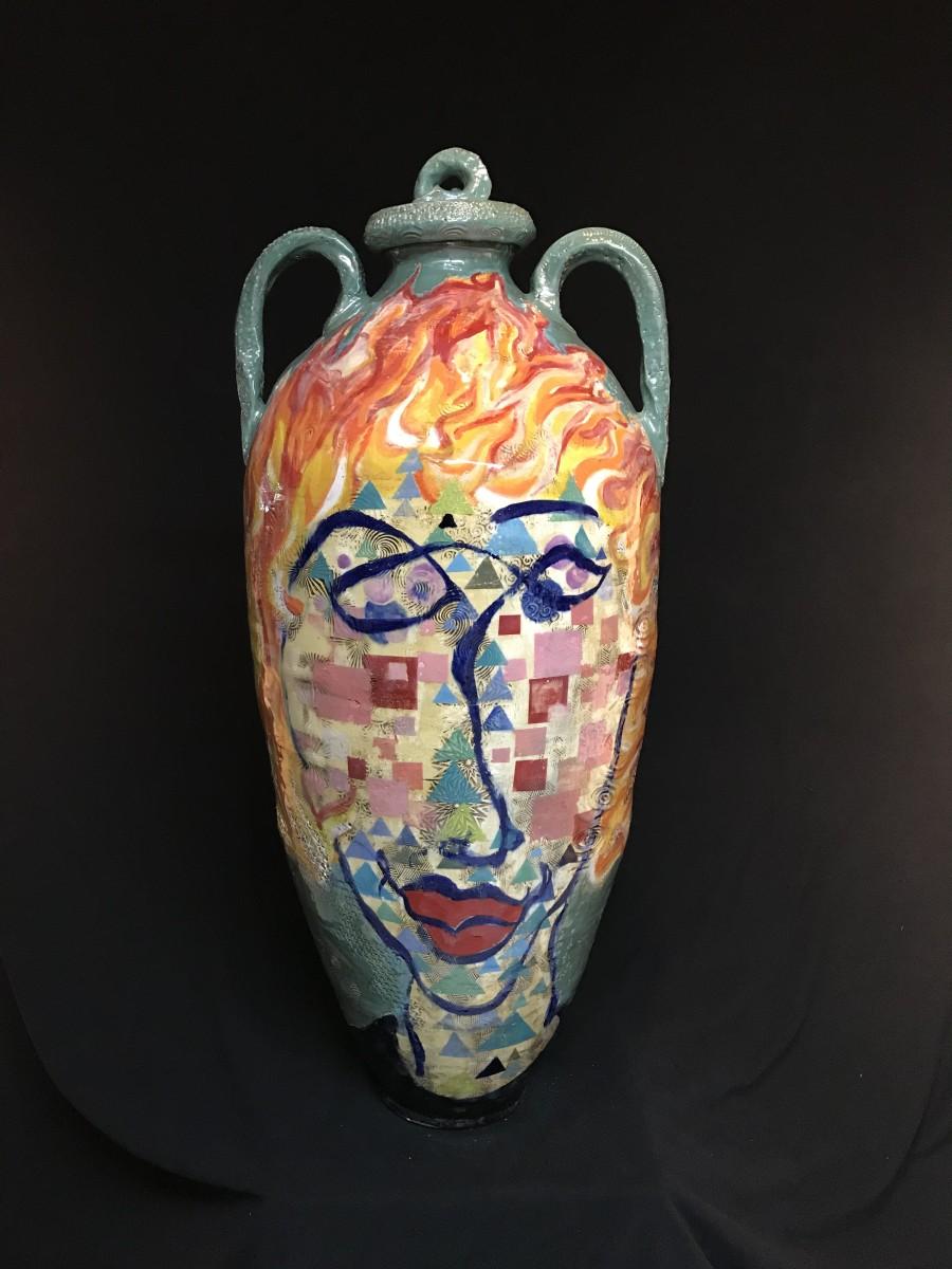 Flame by Mattie Leeds