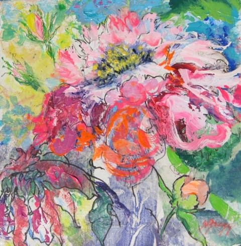 Fanciful Bloom I by Margaret Bragg