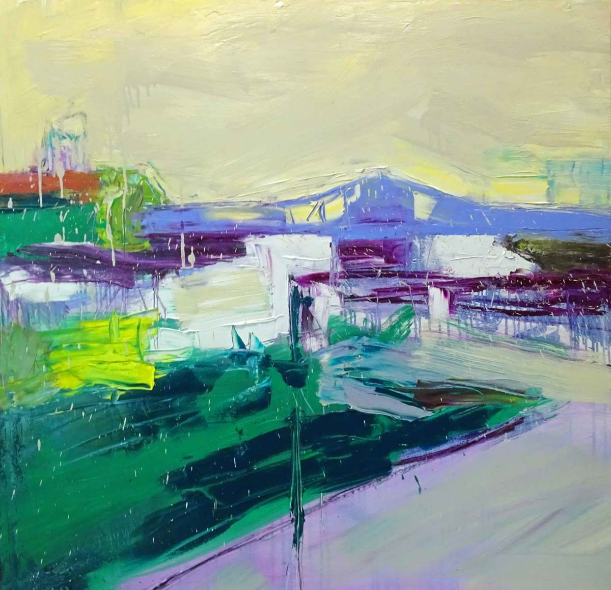 Harlem River Bridge by Helen Cantrell