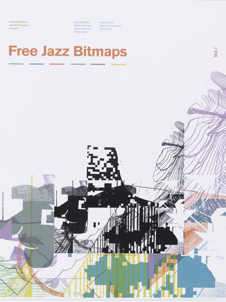 Free Jazz Bitmaps Vol. 1 Promotional Poster by Sonnenzimmer