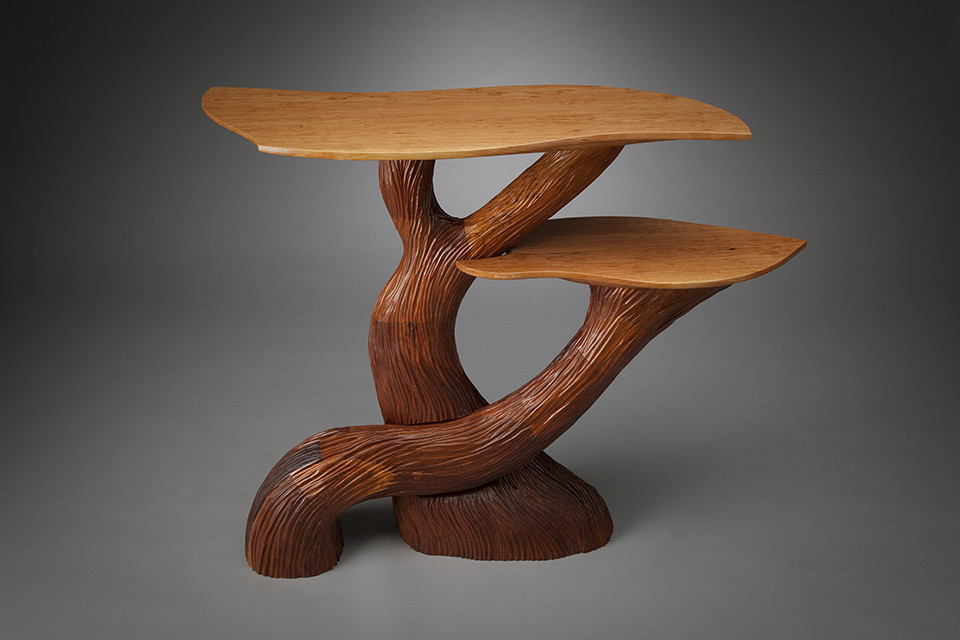 Two Level Hall Table by aaron d laux