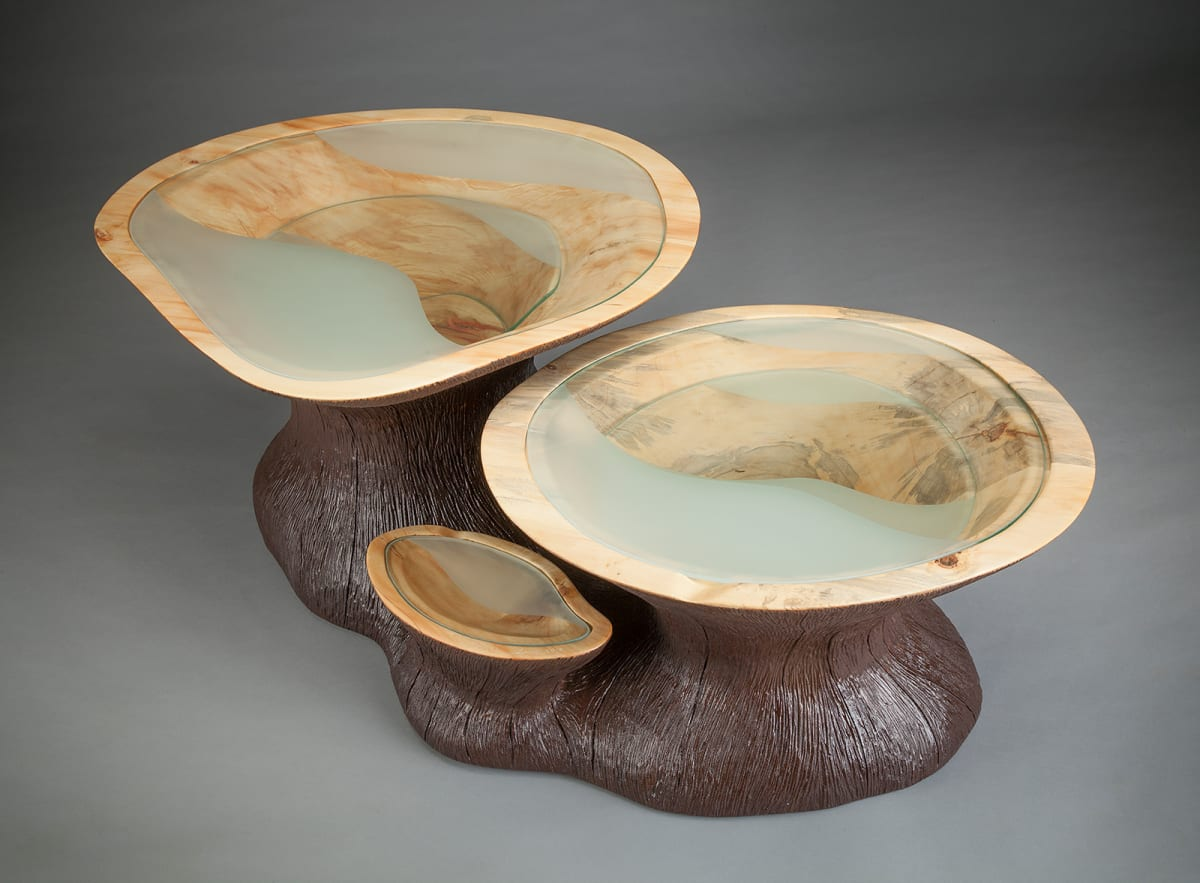 Subterranean Coffee Table by aaron d laux