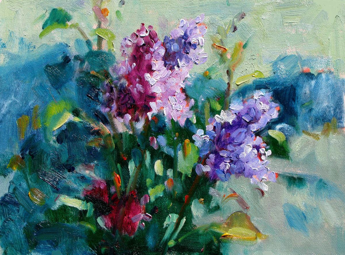 Lilacs Plein Air