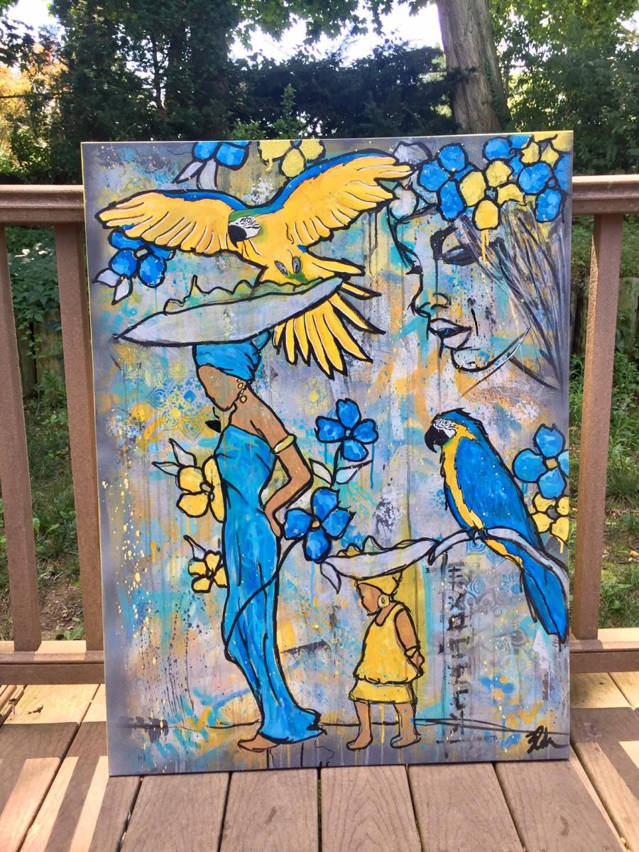 blueyellow. (Macaw)
