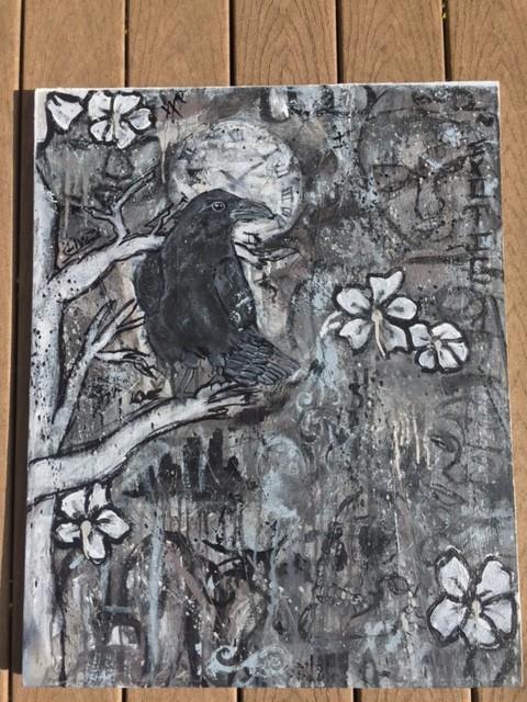black. (Raven)
